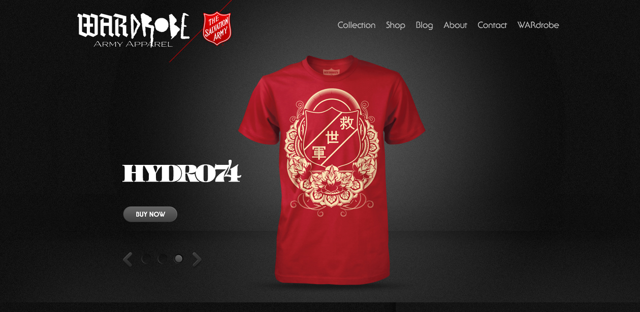 After a long time of third party-sites, the awesome people (i.e. Fulton  Hawk) that brought you the coolest Salvation Army Shirts that you wear  everyday ...